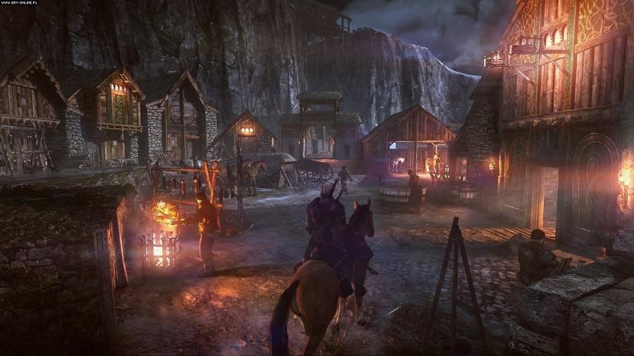 Wiedźmin 3 Gameplay