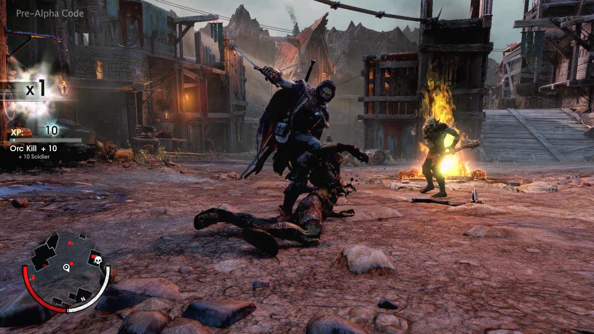 Lords Of The Ring: Shadow Of Mordor Gameplay