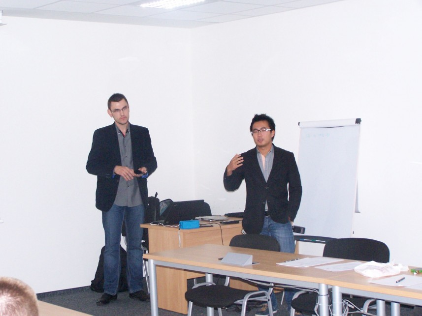 Wykład na temat sprzętu Huawei