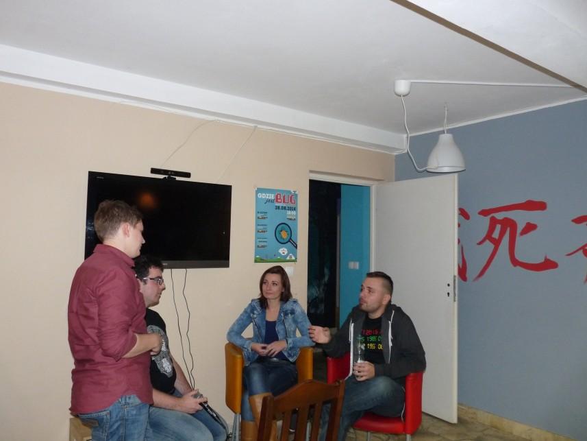 Wywiad z Anetą Wojnar i Pawłem Wederem - Warsztaty Ganymede, jak zostać game designerem.