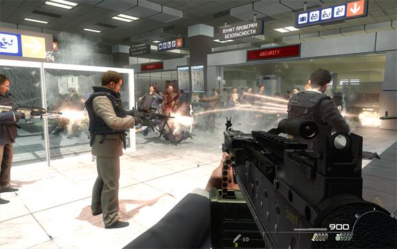 Brutalna scena z Call Of Duty