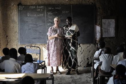 Przykładowe zdjęcie, które może posłużyć do inspiracji, przy tworzeniu biednej, średniowiecznej szkoły.