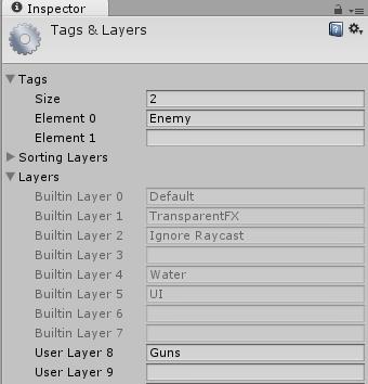Ustawienia tagów i warstw