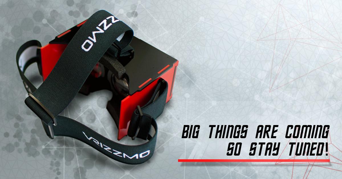 Okulary wirtualnej rzeczywistości firmy Vrizzmo.