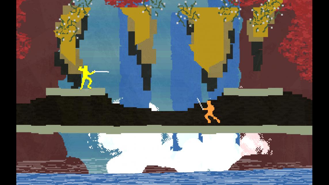 NIdhogg, czyli gra, posiadająca tyle grywalności co pikseli.