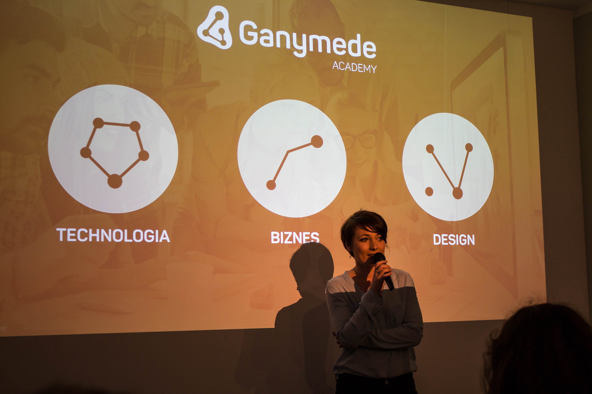Ganymede Academy: Pomysłodawczyni - Aneta Wojnar