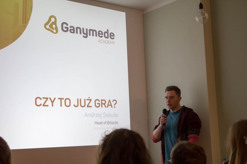 Ganymede Academy: Andrzej Sekuła