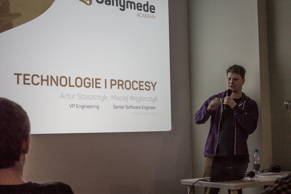 Ganymede Academy: Maciej Węglarczyk