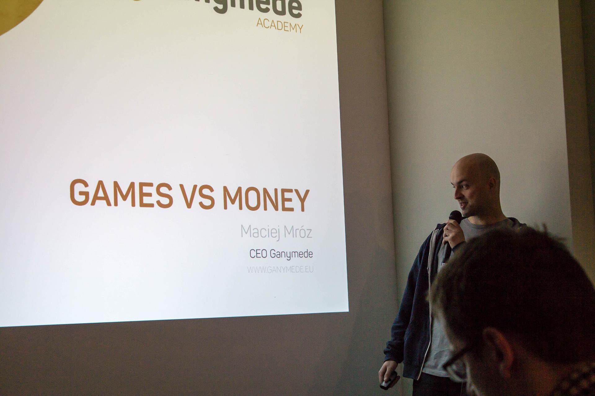 Ganymede Academy: Maciej Mróz