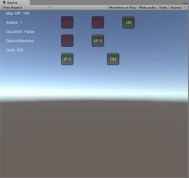 Drzewko umiejętności w Unity3d