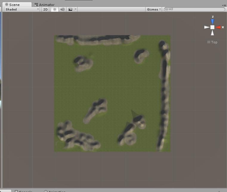 Screen mapy gry z Unity