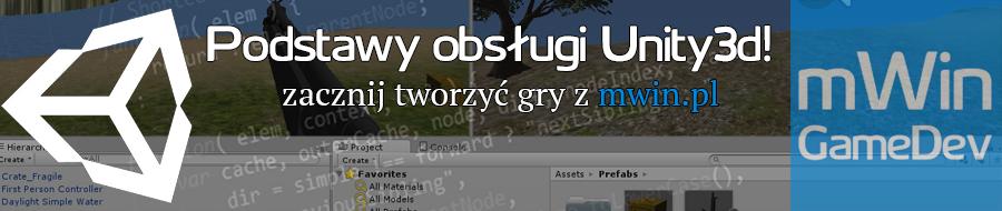 Podstawy obsługi Unity3d