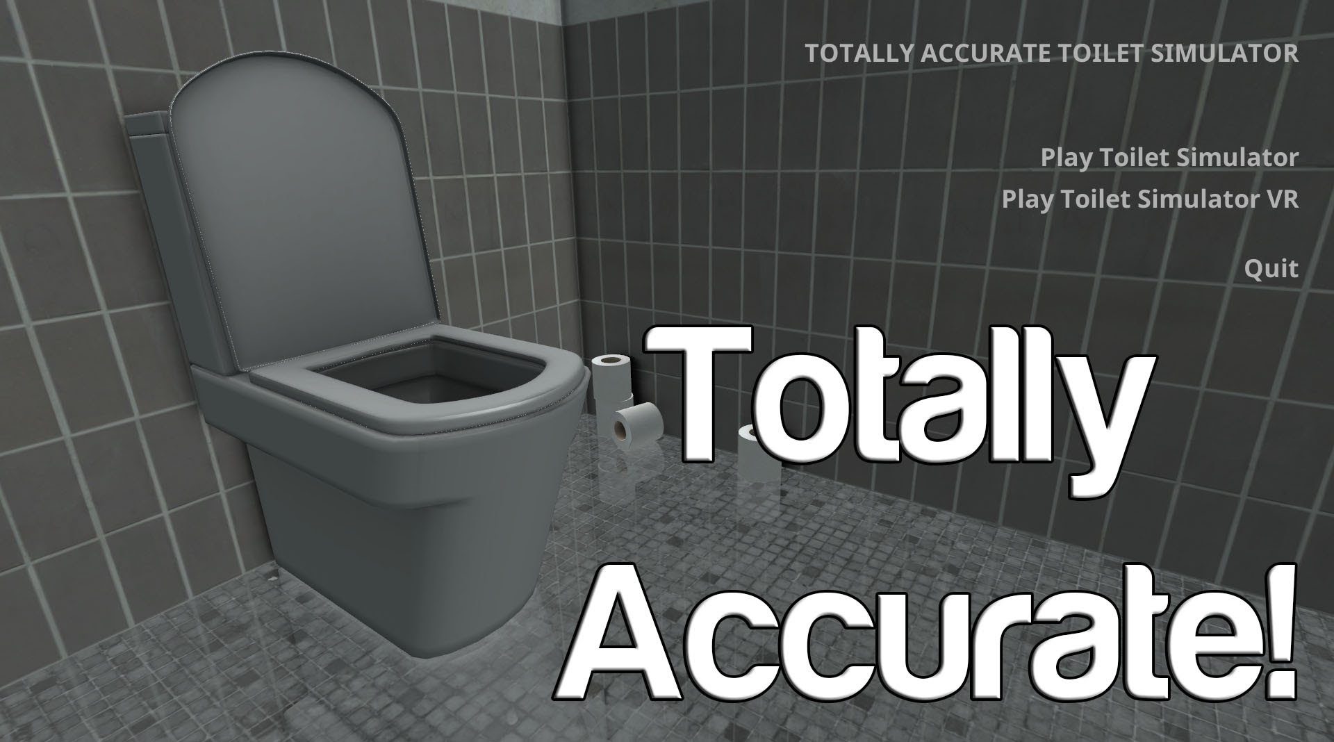 Totally Accurate Toilet Simulator