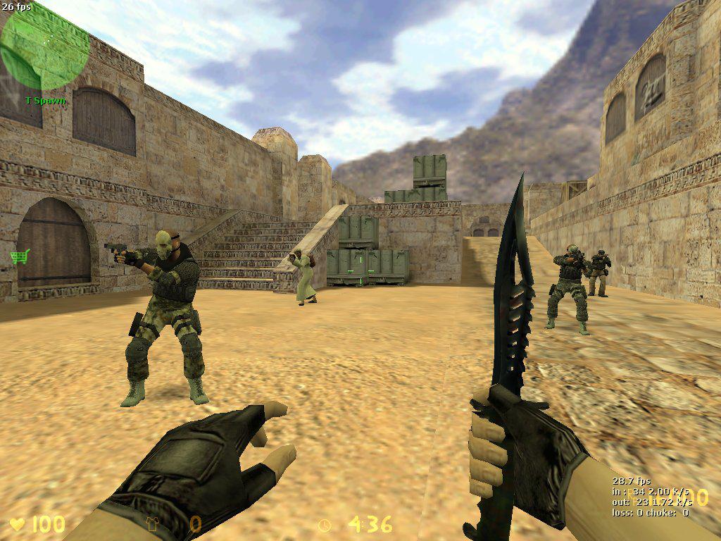Miejsce Respawnu w Counter-Strike