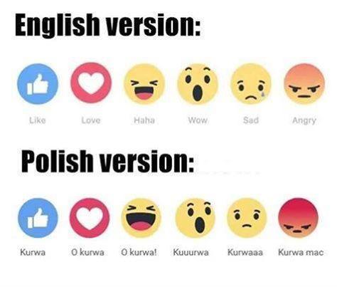 Nowe reakcję Facebooka