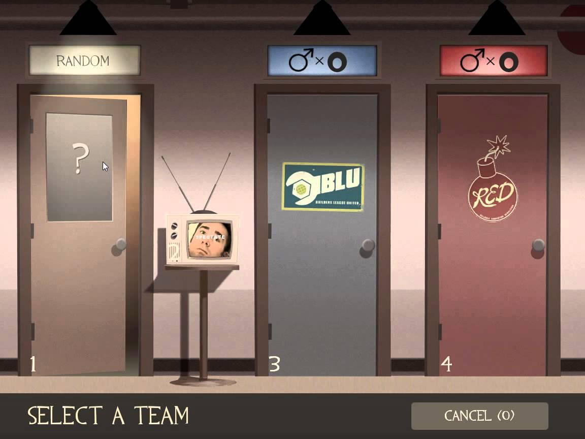 Wybór drużyny w Team Fortrest