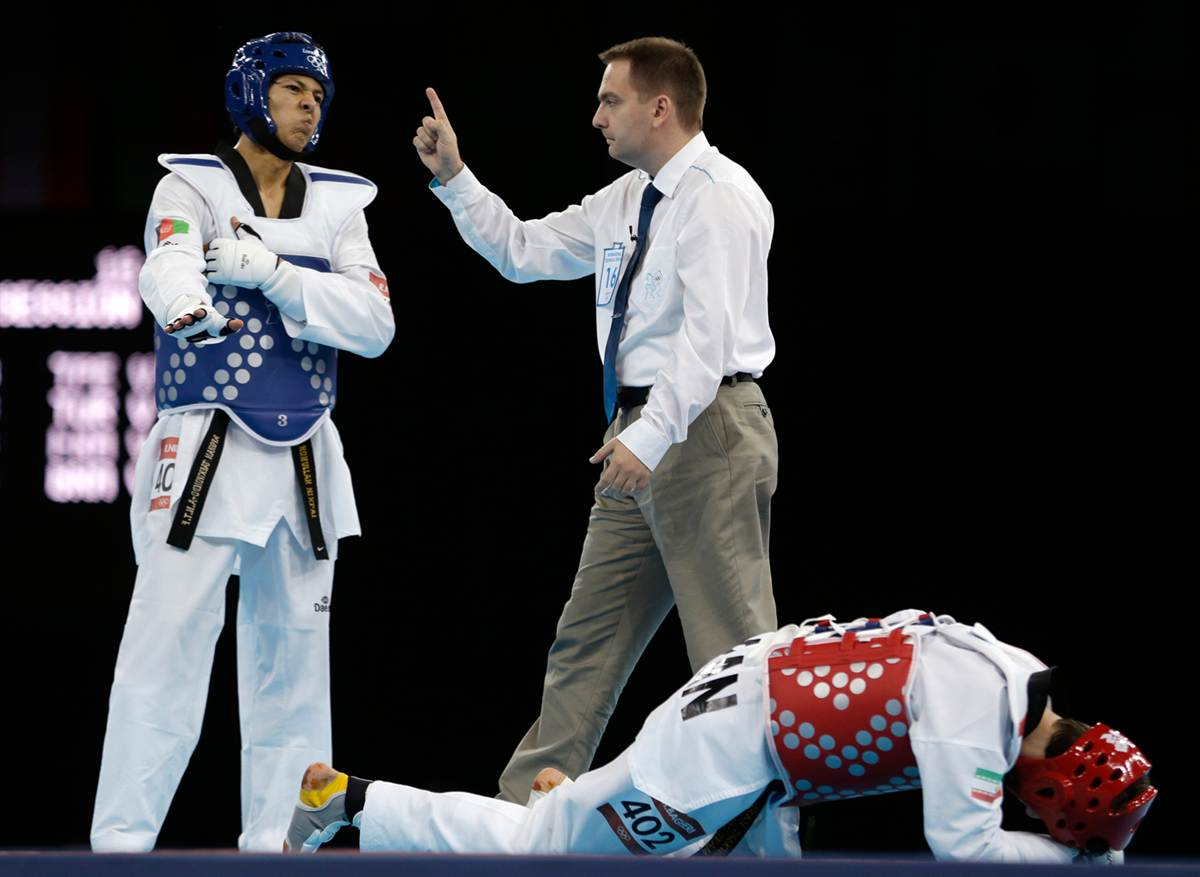 Taekwondo na olimpiadzie