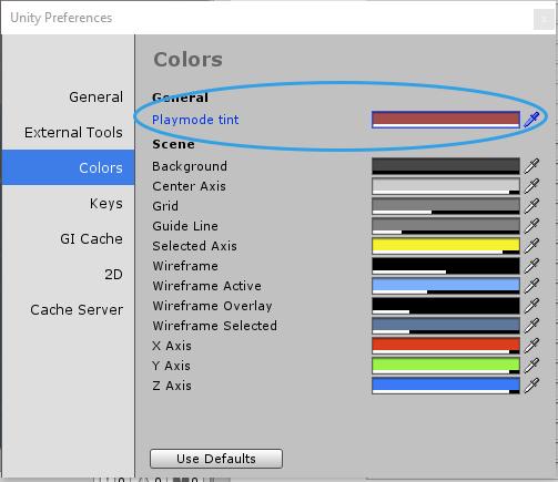 Opcje kolorów w Unity3d