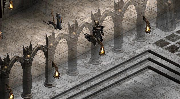Przeźroczyste ściany w Diablo
