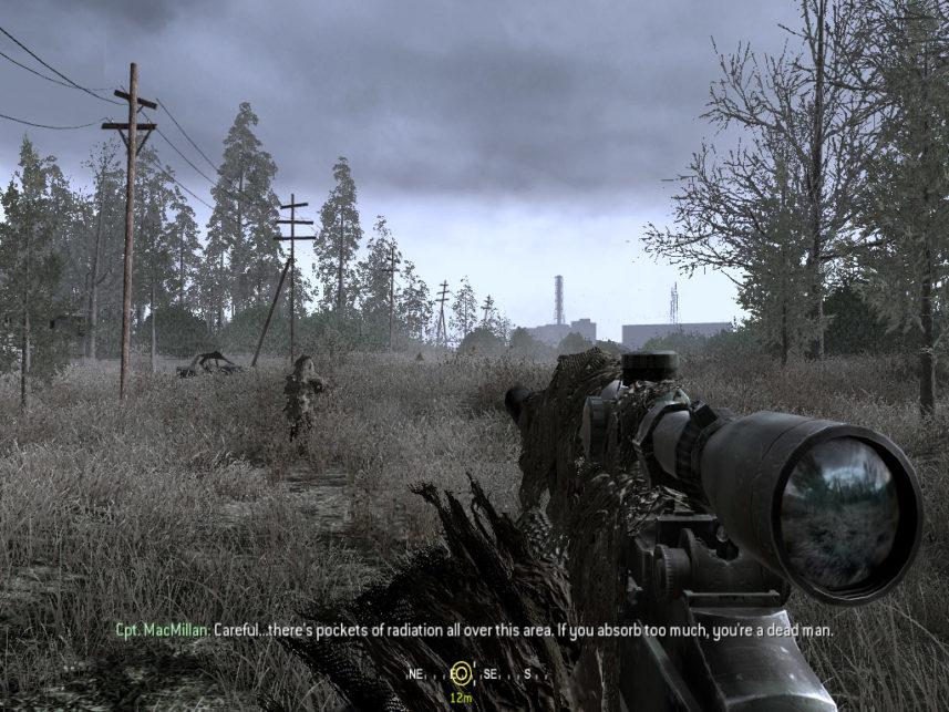 Call Of Duty Modern Warfare Źródło: notanothersequel.blogspot.com