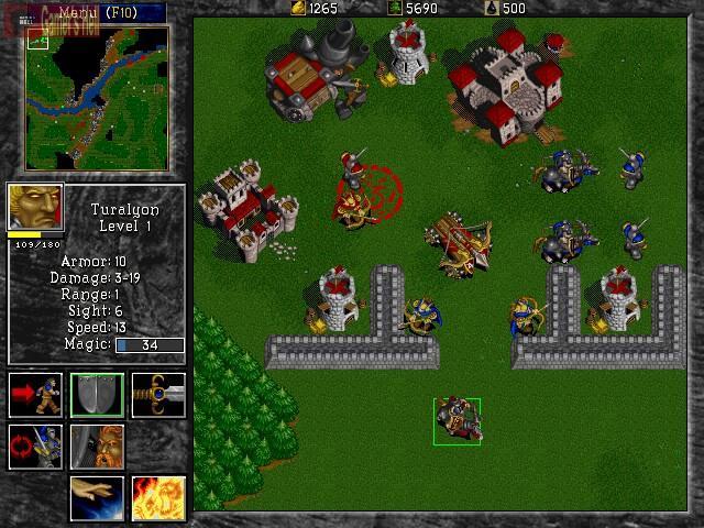 Warcraft 2 Źródło: games.tiscali.cz