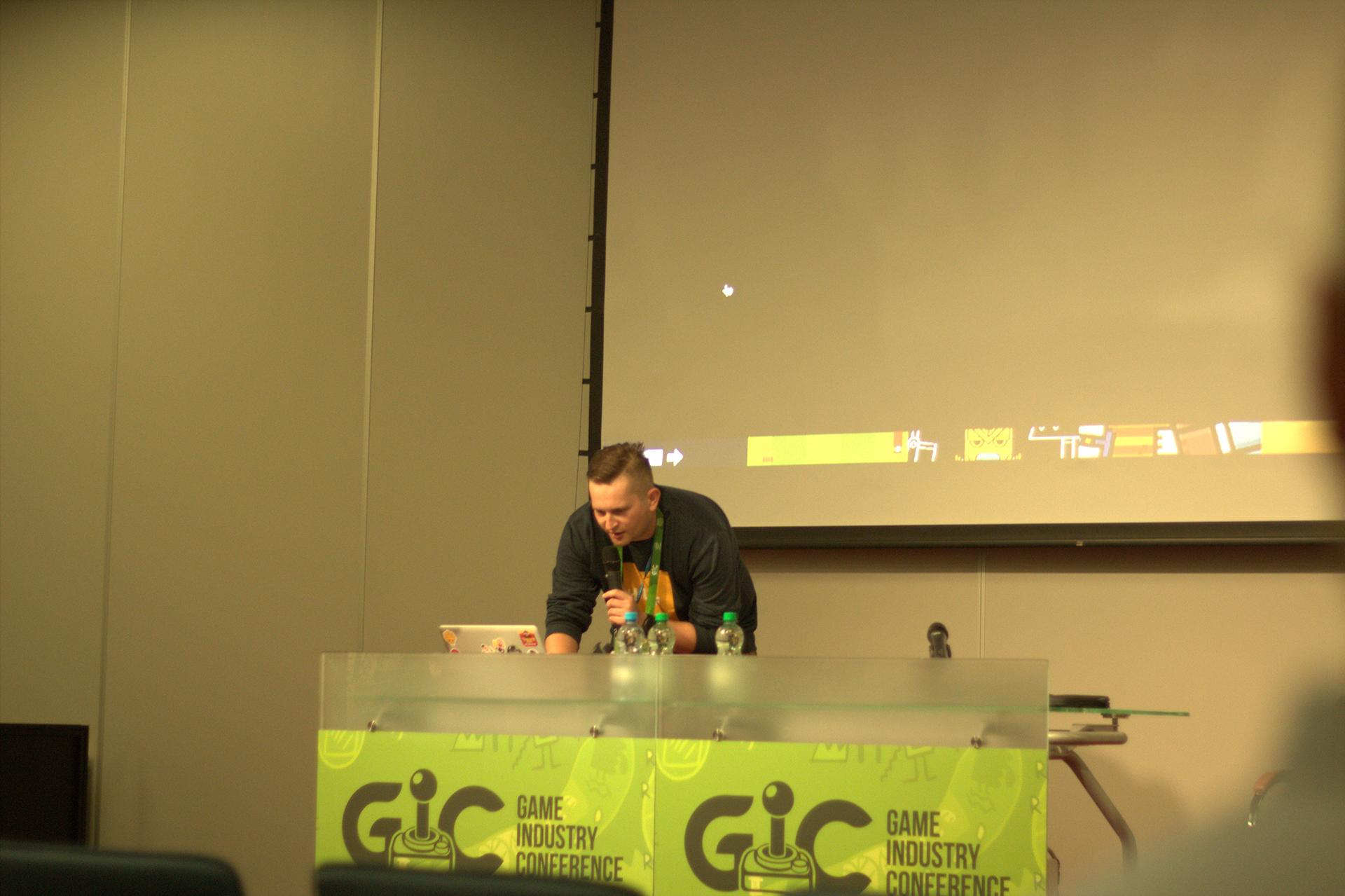 Paweł Jędrysiak z Digital Melody - Świetna prezentacja GIC - 2016
