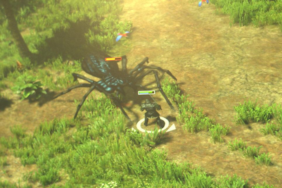 Spellforce 3 - Walka z wielkim pająkiem