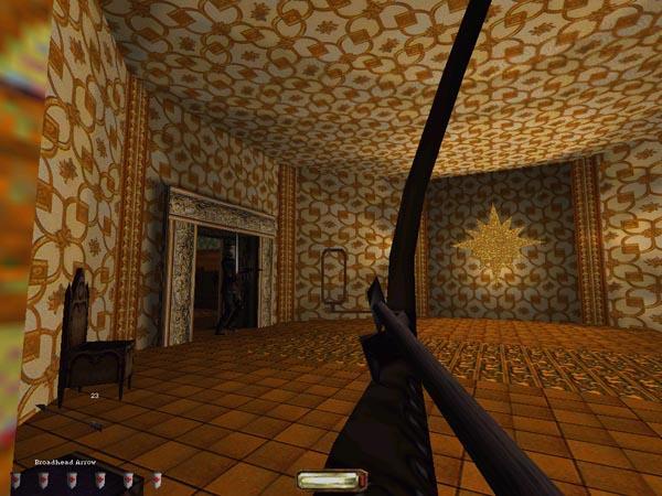 W grze Thief to czy przeciwnik nas widzi było wypadkową naszego stopnia ukrycia w cieniu, kierunku patrzenia przeciwnika i odległości w jakiej staliśmy. Źródło zdjęcia: http://www.tombraiderforums.com/