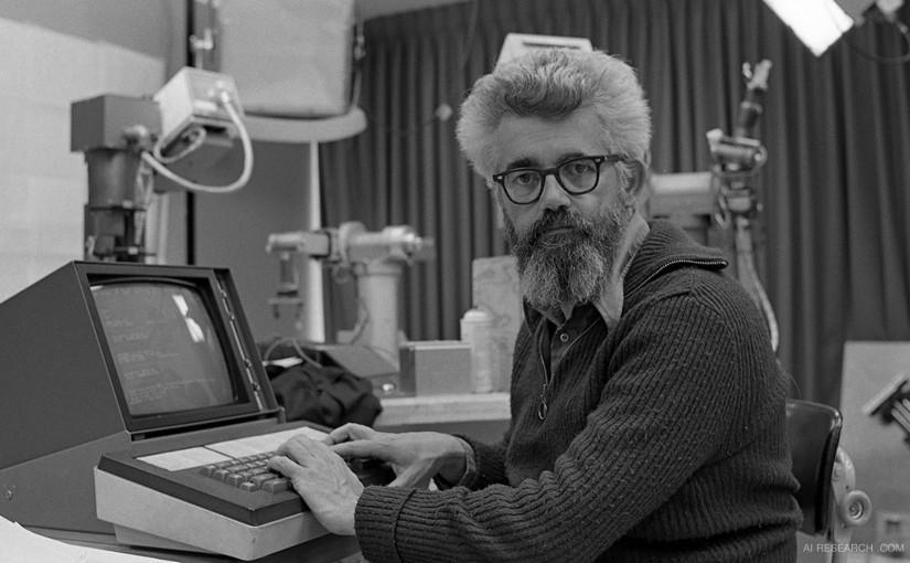 John McCarthy, czyli twórca pojęcia sztucznej inteligencji. Źródło zdjęcia: http://airesearch.com/