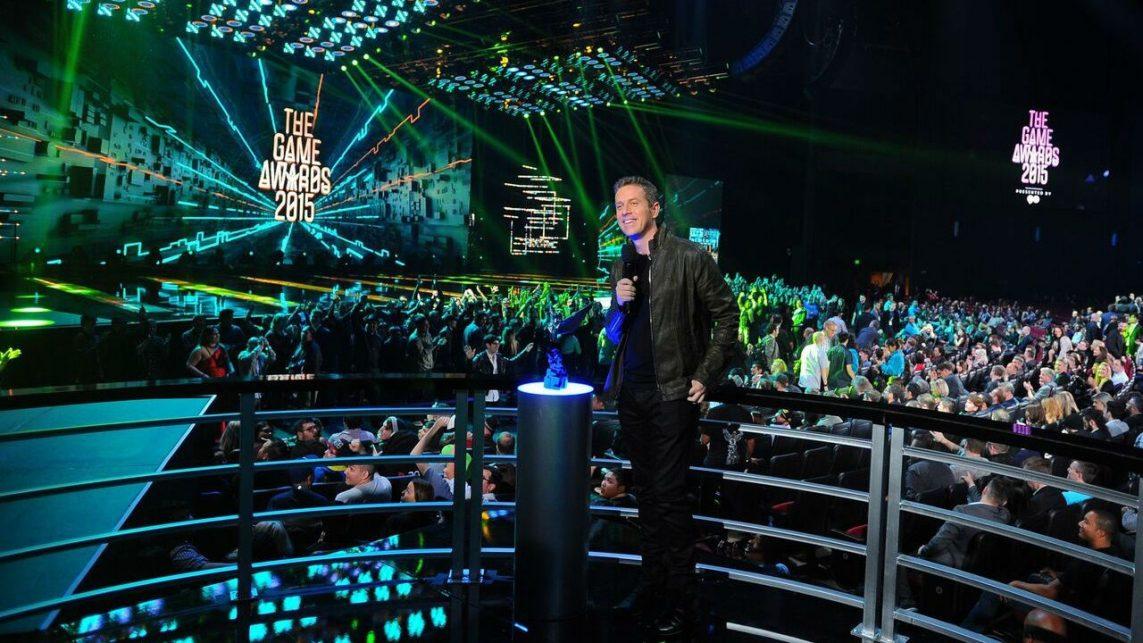 Światła, Lasery, nie to nie koncert znanego DJa, z takim przytupem realizuje się The Game Awards. Źródło: nintendolife.com