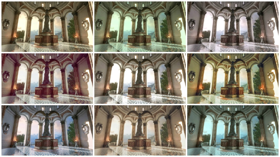 Color Grading w Unreal Engine