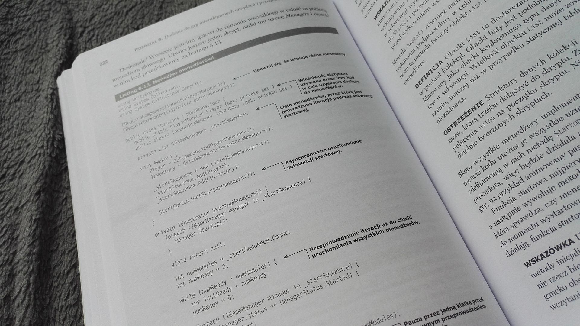Kod jest napisany bardzo ładnie, a do tego dobrze opisany