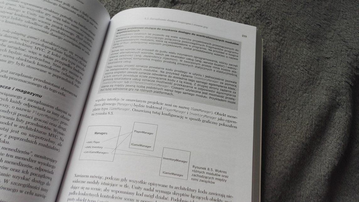 Autor często prezentuje schematy poglądowe tego nad czym pracujemy